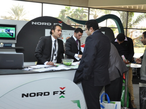 NordFX had an opportunity to sponsor the 7th annual international exhibition TREND 2013 in Cairo1