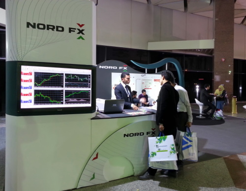 NordFX had an opportunity to sponsor the 7th annual international exhibition TREND 2013 in Cairo3
